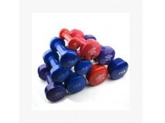 浸塑彩色哑铃女士健身器材1磅