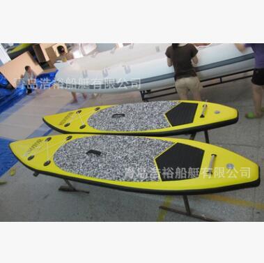 青岛浩裕 进口拉丝气垫滑水板 高性价比的充气式冲浪板