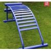 单人腹肌板训练器 户外室外健身器材 小区体育器材健身器仰卧板