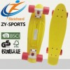 塑料小鱼板四轮塑料大鱼滑板成人专业滑板 PP27寸鱼板厂家直销