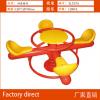 厂家直销幼儿园儿童塑料弹簧摇马小区公园室外大型摇摇乐玩具木马