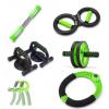 家用健身器材运动套装握力器健腹轮俯卧撑支架腕力器