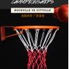 涤纶篮球网 手工编织包芯加粗加强篮球框网 三色可选 编织球筐网