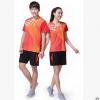 2018新款速干乒乓球羽毛球服套装男女运动服短袖透气训练比赛服