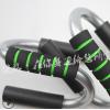 俯卧撑架钢制支架 S型泡棉喷塑扩胸器 健腹轮家用多功能健身器材
