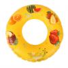 70CM水果图案加厚儿童充气游泳圈PVC卡通游泳腋下圈水上用品批发