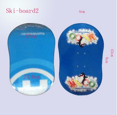 冬季雪橇滑雪板雪滑板雪地冲浪板