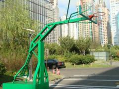 仿液压篮球架 移动式篮球架 钢化玻璃篮球架