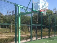 金陵GDJ-1AB地埋式方管篮球架 单臂篮球架 固定式篮球架