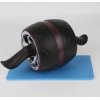 厂家直销 巨轮电镀健腹回弹腹肌轮 俯卧撑支架健身器材回弹收腹轮