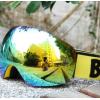 自主研发比耐思新款滑雪镜 双层防雾 外贸出口滑雪眼镜 SNOW4500