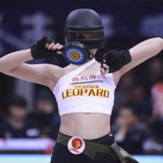 CBA深圳女神啦啦队赛场热舞创意无限,颜值出众曲线优美真靓眼!