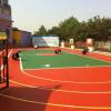 塑胶篮球场, 塑胶跑道施工,塑胶跑道材料,硅PU篮球场,网球场施工 篮球场地