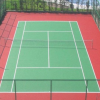 供应上海 江苏 浙江硅PU弹性篮球场 环保无毒 塑胶篮球场