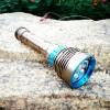 专业生产户外7灯,26650电池充电强光潜水手电筒批发