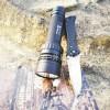 远射1200流明超亮强光手电筒,充电磁控,带电量指示