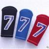 篮球护指排球羽毛手指护套保护指关节多用高弹加长耐磨球星3只装