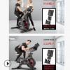 动感单车跑步锻炼健身车家用脚踏室内运动自行车健身器材生产厂家
