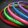 荧光反光呼啦圈成人加重婚庆游戏用品颜色鲜艳夺目不是弹簧呼拉圈
