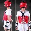 跆拳道护具儿童加厚五件套成人跆拳道护具头盔护臂护腿护具包定制