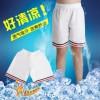 夏季跆拳道短裤儿童成人纯棉道服裤子初学者训练短裤全棉透气白色