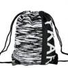 束口袋抽绳双肩包 轻便拉绳男女运动背包户外折叠收纳袋学生书包