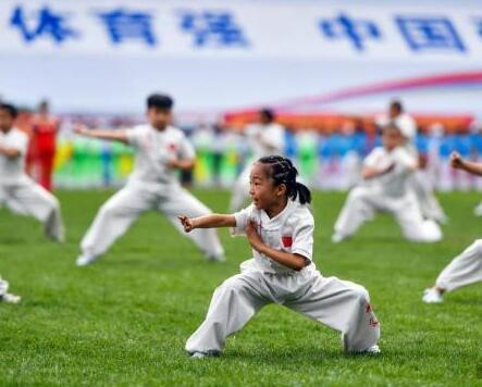 未来中国就是这样的体育强国!你今天要开始锻炼吗?