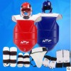 厂家批发跆拳道护具全套儿童五件套比赛型加厚款成人实战训练套装