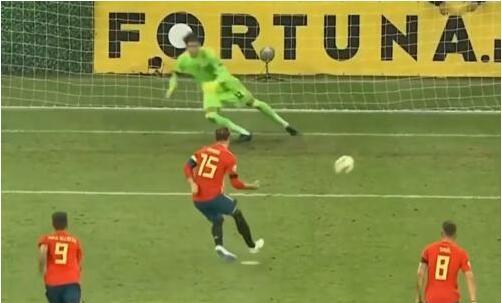 欧预赛西班牙客场2:1罗马尼亚 5战全胜小组领跑