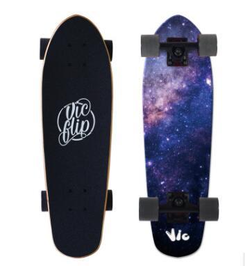 一豹长滑板加拿大枫木滑板成人速降板长板滑板