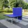 正品DHS红双喜乒乓球桌T2023家用折叠移动乒乓球台案子