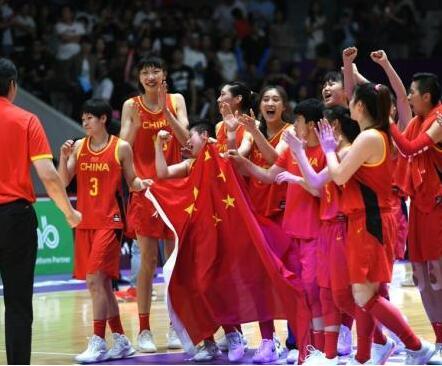 女篮亚洲杯:中国67:44战胜新西兰取得开门红