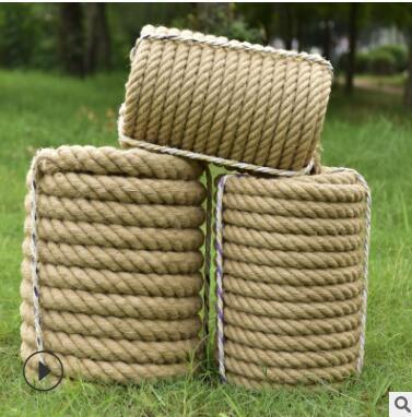 麻绳麻线批发 diy手工编织麻绳 粗细园林麻绳 装饰复古麻绳