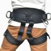 欧式半身户外高空作业安全带高空保险带外墙施工防护救援安全腰带
