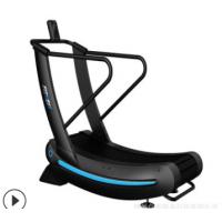 厂家直销 无动力跑步机 履带阻力商用跑步机健身房专用