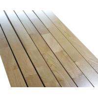 体育馆专用柞木A级运动木地板 柞木实木地板 篮球馆运动地板