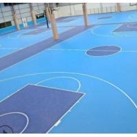 厂家直销运动地板 耐磨室内篮球场塑胶PVC运动地板 地胶可定制