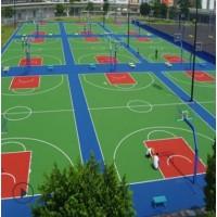 丙烯酸球场材料厂家,室外网球场地坪生产