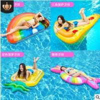 原版正品成人超大火烈鸟天鹅水上充气坐骑浮床浮排游泳圈flamingo