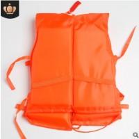 厂家批发大量供应零销成人牛津普通泡沫救生衣钓鱼救生服支持定制