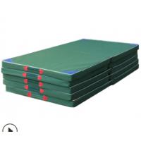 定做比赛用跳高垫 后空翻海绵垫子 帆布加厚家用舞蹈垫折叠体操垫