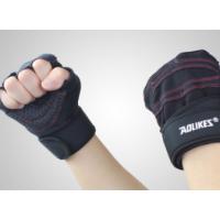 健身手套男女运动器械哑铃锻炼举重半指手套训练健身房透气防滑