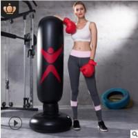 爱倍健体育厂家直销圆形立式水桶沙袋拳击训练用品沙包健身器材