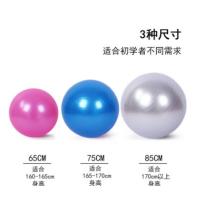 65 75 85CM瑜伽球 环保加厚防爆PVC初学者儿童感统训练健身平衡球