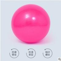 瑜伽球 加厚防爆球 瑜伽球55 65 75健身球 配件送气拔气塞打气筒