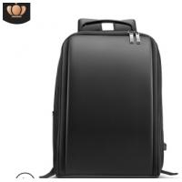 跨境外贸品质新款商务双肩包男pu电脑包背包户外旅行包厂家定制