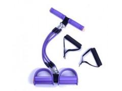 脚蹬仰卧起坐器健腹器两用拉力器室内健身用品