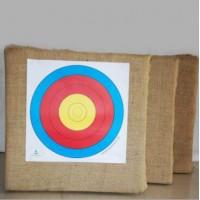箭靶 射击射箭体育器材反曲传统弓箭靶草靶墙箭靶子60*60