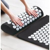 厂家直销针刺按摩垫 瑜伽垫 穴位按摩垫针灸垫子运动垫子彩色布袋