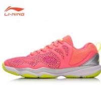 lining/李宁 羽毛球鞋AYTN034女子防滑耐磨低帮夏季运动鞋训练